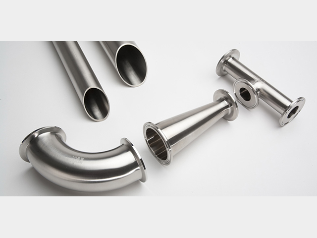 Tri clamp fittings DIN Inch
