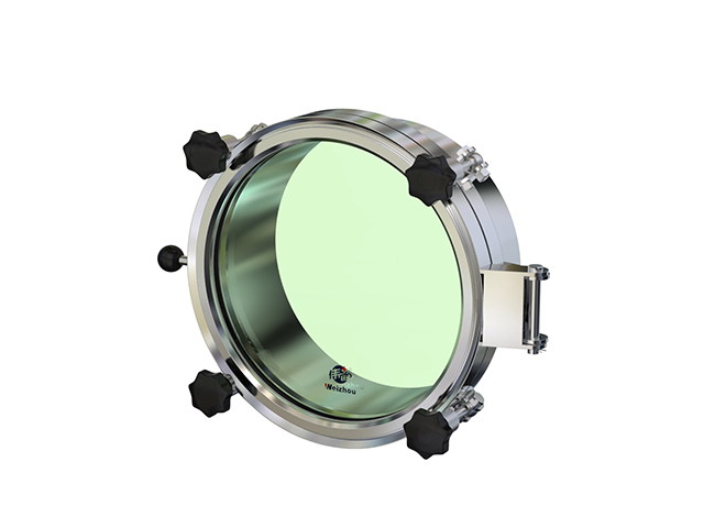 WZG Round pressure manway with full sight glass